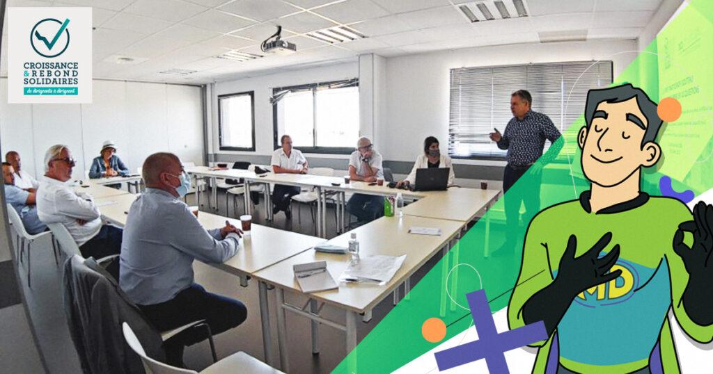 Le Prêt Participatif Soutenu par l'Etat présenté par MD Courtage chez Croissance & Rebond Solidaires.